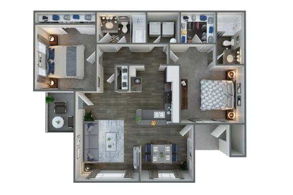 Floor Plan  Floor Plan at Vista Grove, Mesa,Arizona