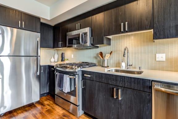 Radius Apartments Kitchen