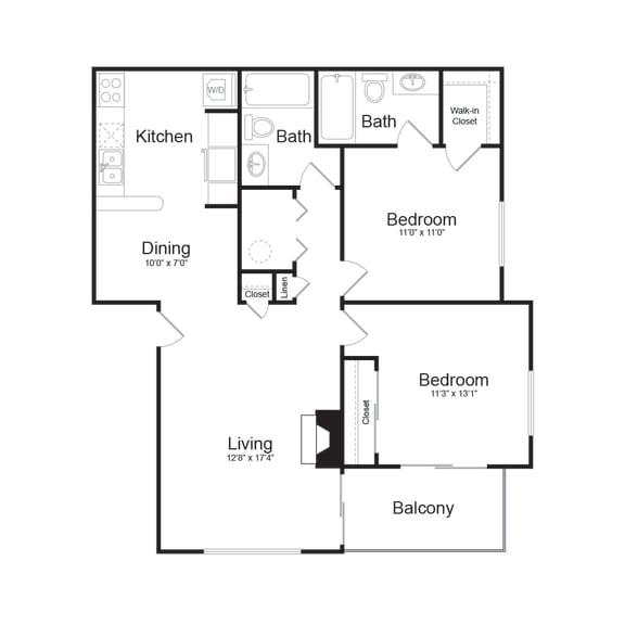 Floor Plan  E Modern