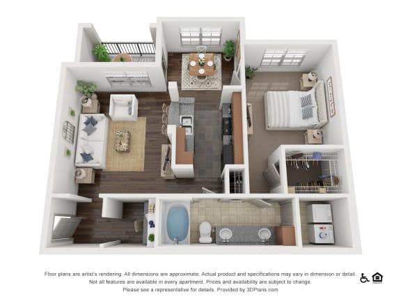 Floor Plan  at Villas at Stone Oak Ranch, Austin