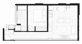 Floor Plan  F - Furnished