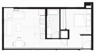 Floor Plan  H - Furnished