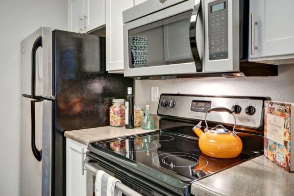 Kitchen Appliances at StonePointe, University Place, Washington