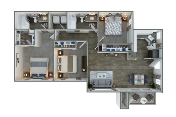 Floor Plan  Floor Plan at Vista Grove, Mesa, AZ 85204