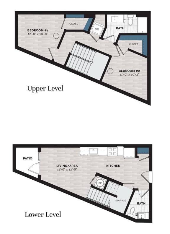 Floor Plan  B16-J-L
