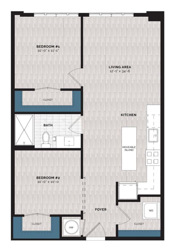 Floor Plan  B4-J