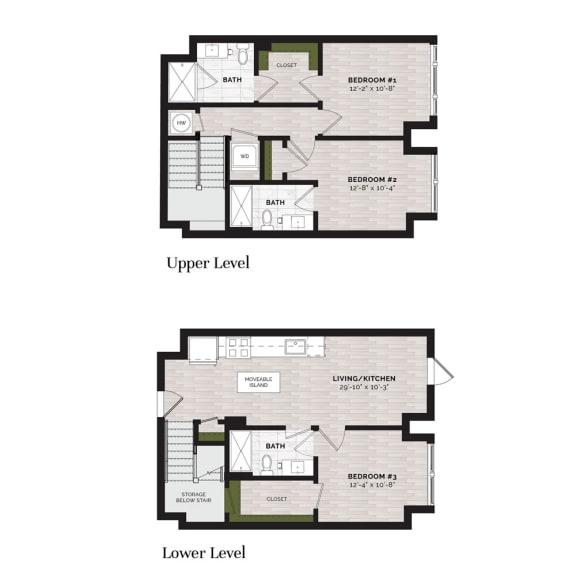 Floor Plan  D1-L