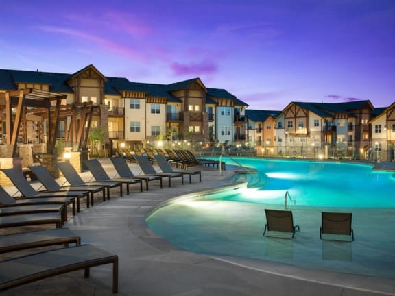 Relaxing Swimming Pool With Sundeck at Broadstone Montane, Colorado, 80138