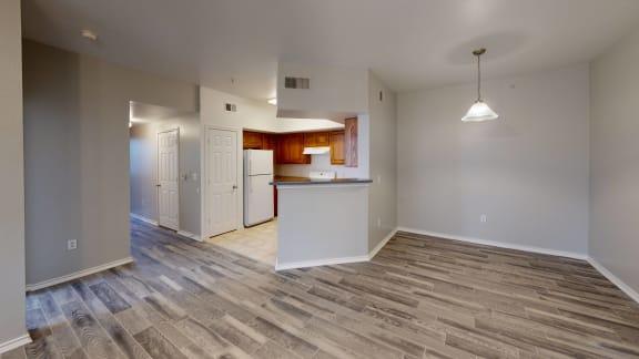 Living room at The Life at Westland Estates, Texas