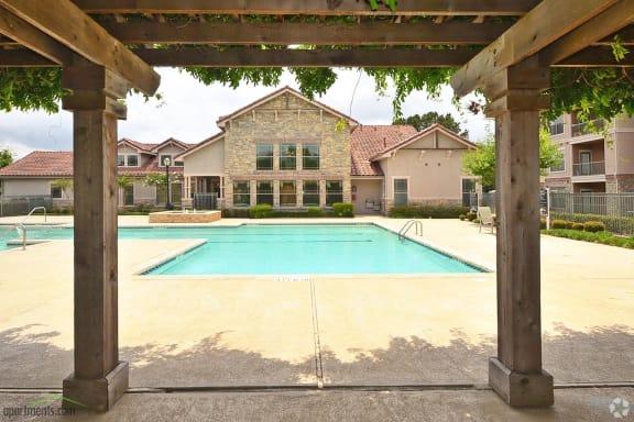 Resort -style swimming pool at The Life at Brighton Estates
