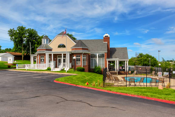 Exterior of the Ashley Square Clubhouse