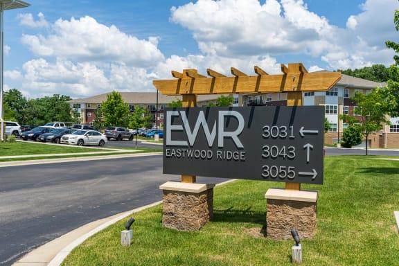 Eastwood Ridge Monument Sign
