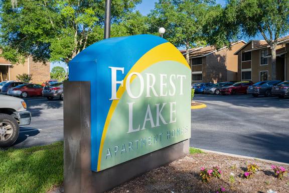 Forestlake Monument Sign