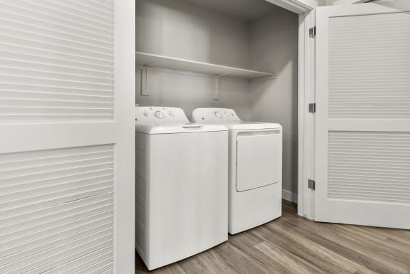 In-unit washer dryer at V on Broadway Apartments in Tempe AZ November 2020 (2)