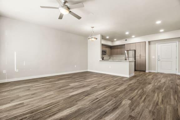 Living room at V on Broadway Apartments in Tempe AZ November 2020 (4)