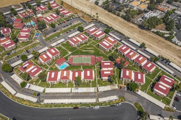 CentrePointe Aerial View