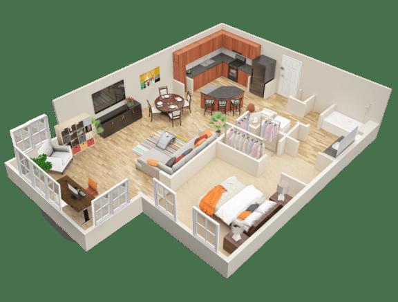 Floor Plan  A1 Sun