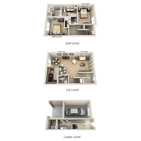 Floor Plan  B2ATG