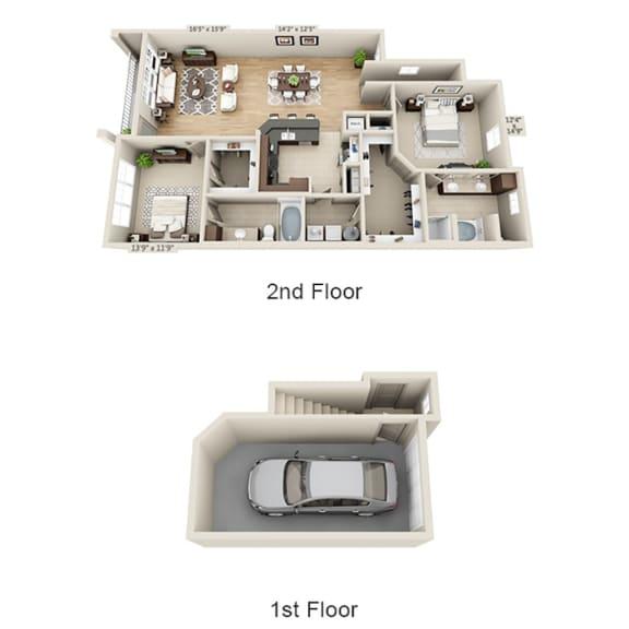 Floor Plan  B3BG