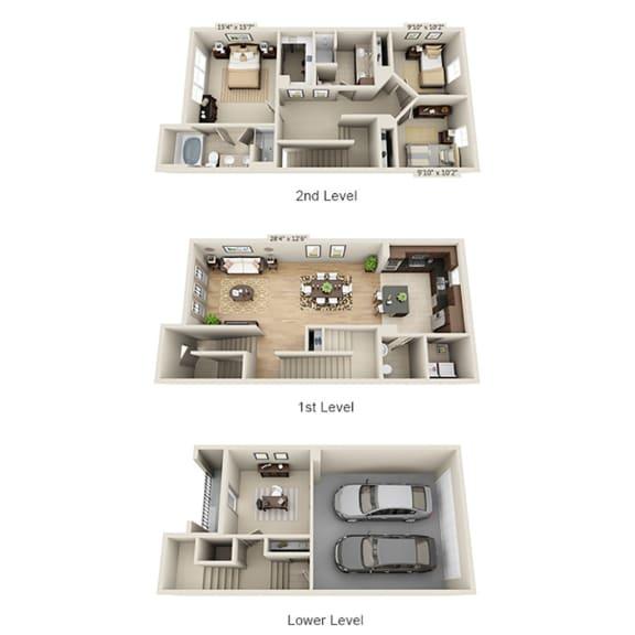 Floor Plan  C2BTG2