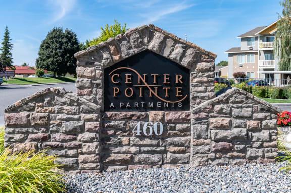 Center Pointe   Monument Sign