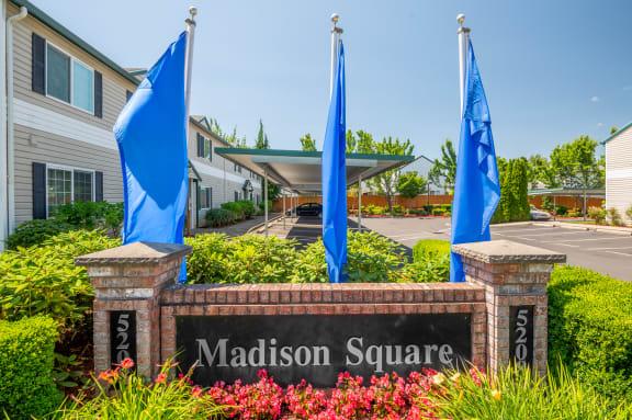 Madison Square | Monument Sign
