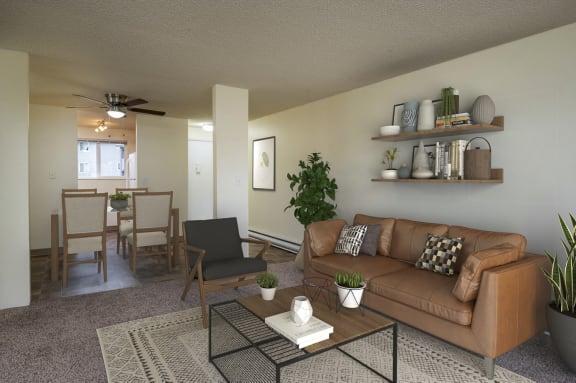 Birch Creek Living Room