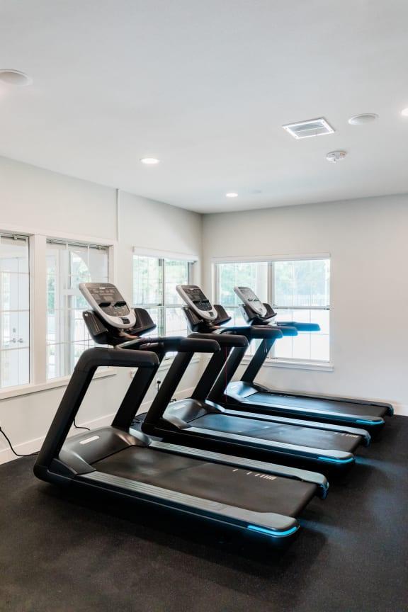 Cardio Studio Equipment at Deer Run Apartments, Brown Deer, Wisconsin