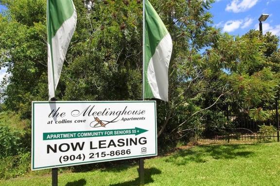 meetinghouse collins cove senior apartments jacksonville entrance