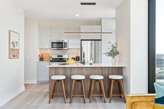 corner 1 bed kitchen