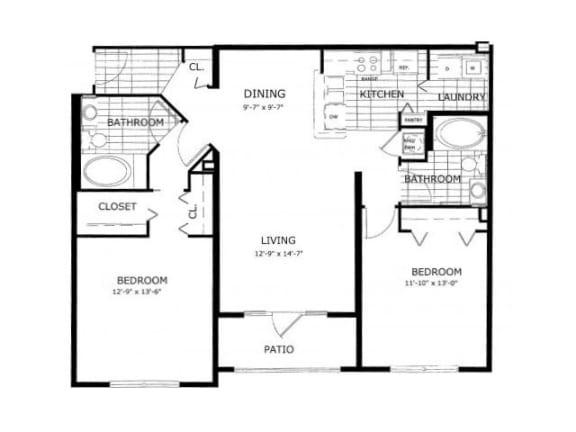 Laurel Floor Plan | Cypress Legends