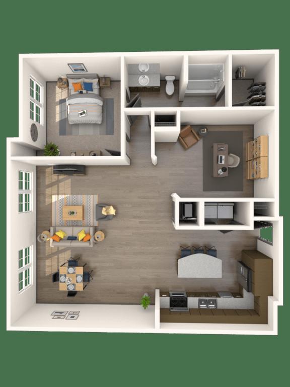 Floor Plan  Trapani Floor Plan | Rialto