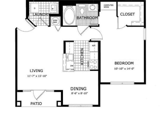 Sycamore Floor Plan | Cypress Legends