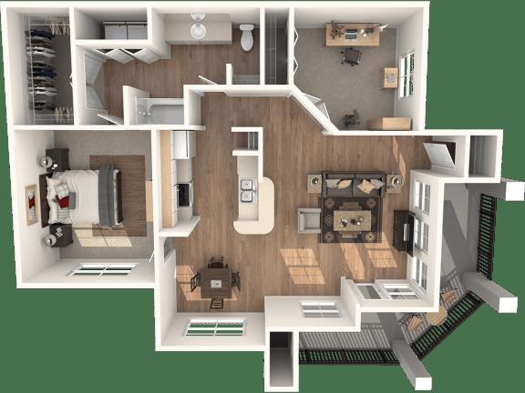 Floor Plan  Adobe Floor Plan | Sedona Springs