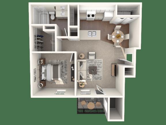 Floor Plan  R1A | Monterey Ranch