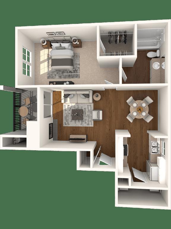 Floor Plan  Plan A3  Canyon Creek