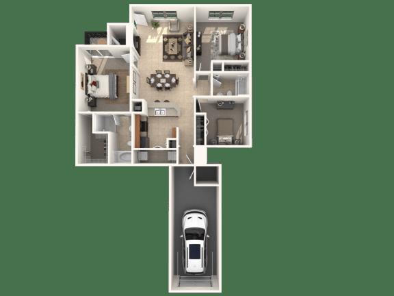 Floor Plan  Arabian Floor Plan |Estates at Heathbrook