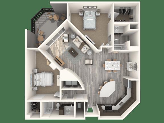 Floor Plan  Avalon Floor Plan | The Paramount