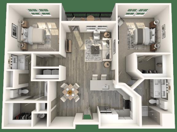 Floor Plan  B2 Floor Plan   Inspire