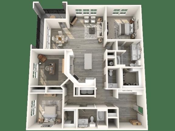Floor Plan  C1M1 Floor Plan | Inspire