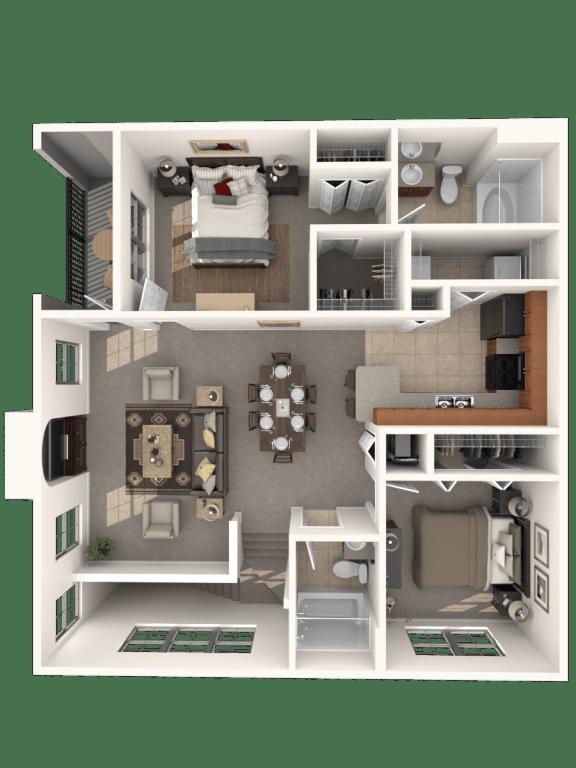 Floor Plan  Calder Floor Plan |Estates at Heathbrook