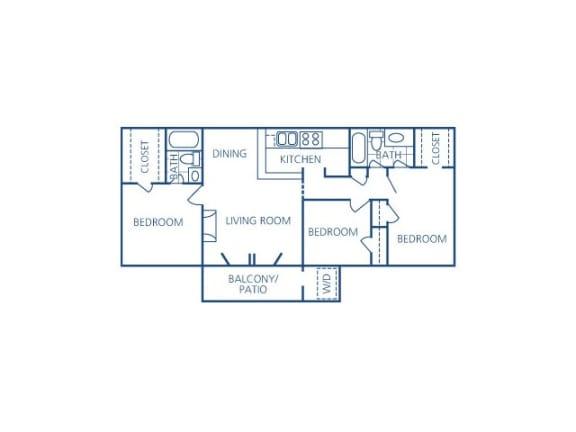 Begonia Floor Plan  Candlewood