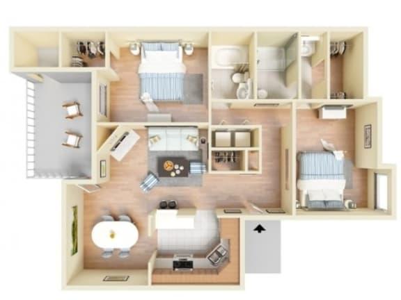 Floor Plan  Bahamas Deluxe