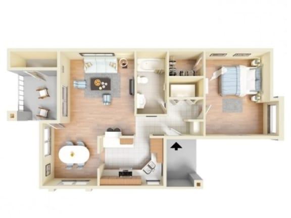Floor Plan  Granada Deluxe