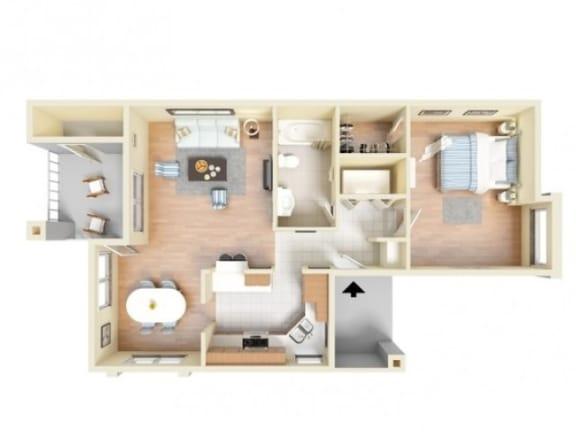 Floor Plan  Panama Deluxe