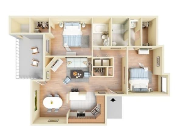 Floor Plan  Trinidad Deluxe