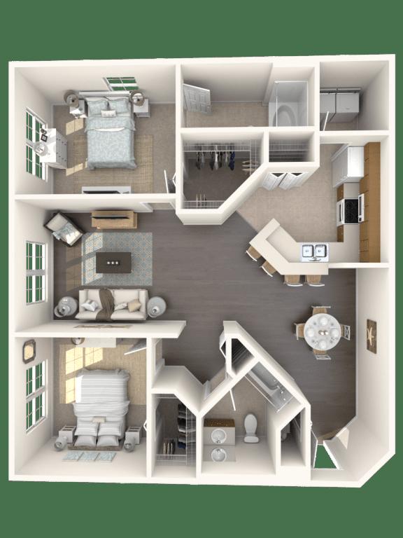 Floor Plan  Cocoplum Floor Plan  Floresta