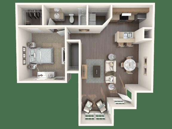 Floor Plan  Cozumel l_down Floor Plan |Caribbean Isle