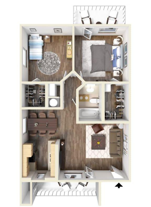 Floor Plan  E Floor Plan | Hilands