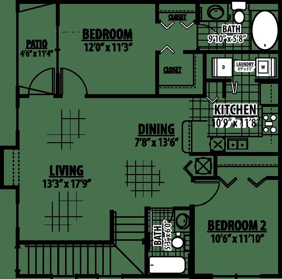 Calder Floor Plan | Estates at Heathbrook